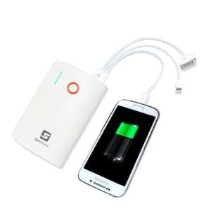 Spectrumz Power Bank 7800mAh with Micro USB and Lightning cable £5.97 (Prime) or £9.96 (no Prime) @ Amazon