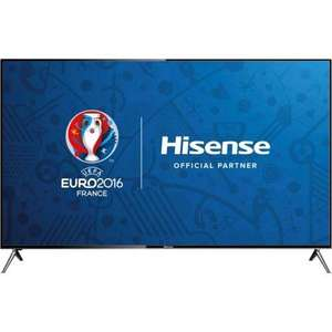 "Hisense HE58KEC730UWTSD 58"" Smart 3D 4K Ultra HD TV - Silver NOW £494.10  @ AO.com"