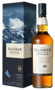 Talisker 10 Year Old Single Malt Scotch Whisky £22.99 delivered at Amazon