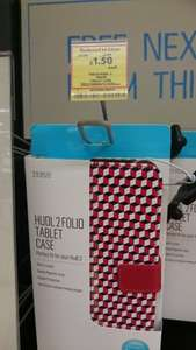 Tesco Hudl 2 Folio Case (+many others!) was £12.50 RTC now £1.50