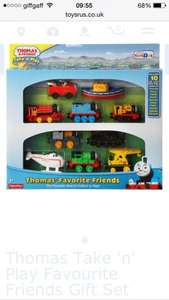 Thomas take-n-play favourite friends gift set half price at Toys R Us, £24.99 (free click and collect or £4.99 delivery)