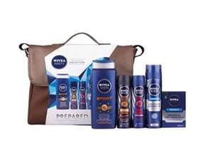 NIVEA Men The Ultimate Collection Prepared 5 Piece Gift Pack £20 @ Amazon