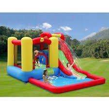 Happy Hop Jump & Splash Adventure Zone Bouncy Castle & Pool £200 Tesco