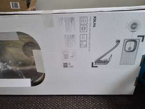 kolva stainless sink and mixer taps £5 @ B&Q bishop auckland