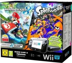 Nintendo Wii U 32GB Mario Kart 8 and Splatoon Premium Pack - Black £239 @ Amazon