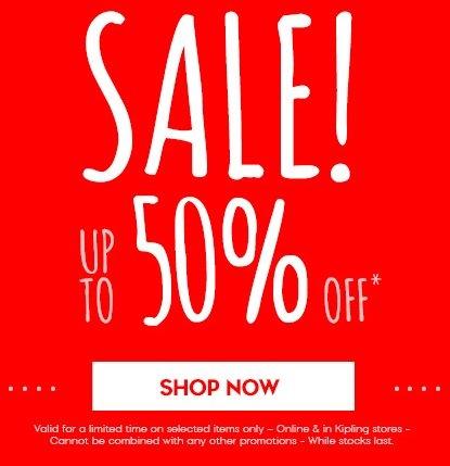 Kipling - Handbags, Luggage, upto 50% off Sale Online