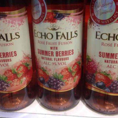 Echo falls rosé wine with summer berries £3.29 @ Aldi