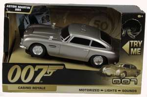 James Bond 50th Anniversary Aston Martin DB5, 15cm--Casino Royale £9.99 prime / £13.98 non prime @ Amazon