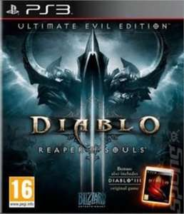 [PS3/Xbox 360] Diablo III: Reaper of Souls: Ultimate Evil Edition - £9.99 - XtraVision