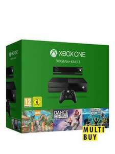 Xbox One 500Gb Console +  Kinect + Rise Of The Tomb Raider +  Sports Rivals + Zoo Tycoon + Dance Central £249.99 @ Very
