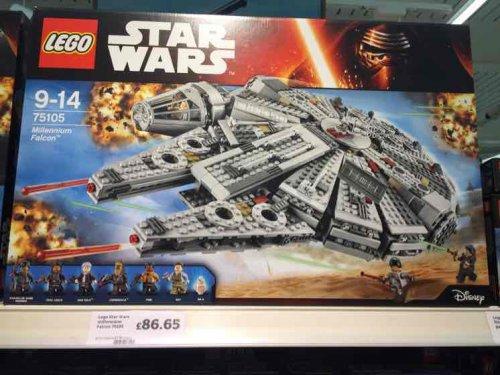 Lego Star Wars, 75105 Millennium Falcon £86.65 at Sainsburys
