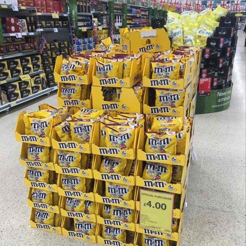 Peanut M & M's (1kg bag) - £4 @ Tesco