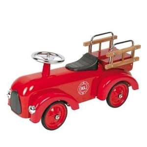 Classic Fire Engine Ride-On Car Sturdy Aluminium Construction. Down to £30 Delivered from Tesco on eBay.