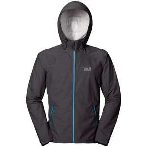 Jack Wolfskin Exhalation Lightweight Waterproof Jacket XL Only Free Delivery £39 rutlandcycling
