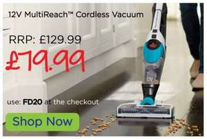 BISSELL - MultiReach™12V cordless vacuum cleaner £79.99 With DIscount Code