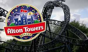 £2.50 Clubcard spend for £15.99 Alton Towers Tickets or £13 Clubcard Spend for a ticket! @ Tesco Clubcard