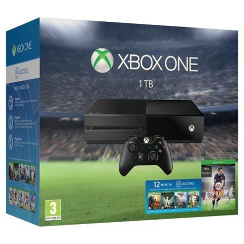 Xbox One 1TB Console + Fifa 16 + Forza 6 + Rocket League + 1yr EA Access - £299 at Tesco Direct