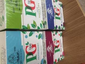 PG Tips Box of 20 Flavoured Variety 25p (Various Available) @ Morrisons