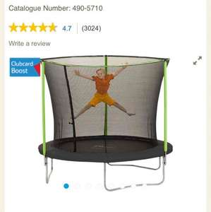 Plum 8ft Trampoline, with cover, Tesco, £65 - free c&c