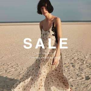 ZARA Summer Sale now on!