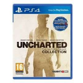 Uncharted Nathan Drake Collection PS4 - was £44 now £24 at Tesco Direct