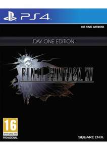 Final Fantasy XV (15) Day One Edition on PlayStation 4 & Xbox One Now £34.85 @ Simply Games