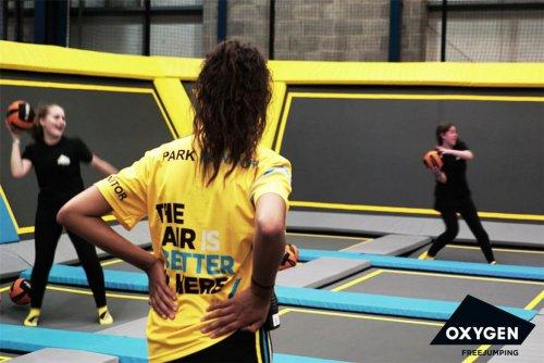 Oxygen trampoline park Manchester free on Sat 18th @ Kids Pass!