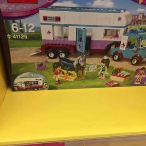 Lego Friends Horse Vet 41125 £23.33 Sainsburys in store