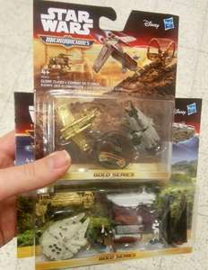Star Wars Micro Machines Large packs £1.99 Small packs £1.49 in store! @ Home Bargains