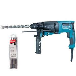 MAKITA HR2630 SDS+ 240V ROTARY HAMMER DRILL WITH ACCESSORIES  Free next day delivery £99.96 @ Anglia Tool Centre