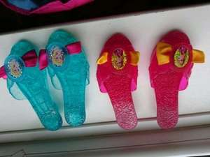 Anna and Elsa fancy dress shoes - £3 instore @ ASDA George