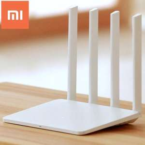 Original Xiaomi Mi WiFi Router 3 (802.11ac, 1167Mbps, 2.4GHz / 5GHz Dual Band) £19.17 @ Gearbest
