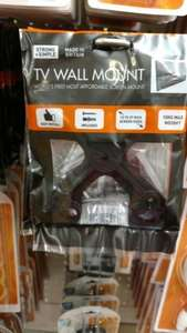 The worlds most affordable TV wall mount £1 @ poundland