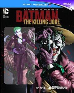 Batman: The Killing Joke Blu-ray £10.79 with code ZAVWEL54 & link @ Zavvi