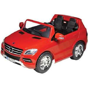 12V Battery Powered 2 Seater Mercedes-Benz RideOn Car now £89.00 Del @ Tesco Ebay Outlet