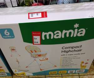 Mamia Highchair £9.99 at ALDI Kettering