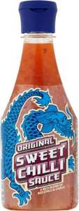 Blue Dragon Original & Light Sweet Chilli Sauce (380ml) was £1.99 now £1.00 (Rollback Deal) @ Asda @ Asda
