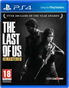 Last of us remastered ps4 £19.99 @ game.co.uk