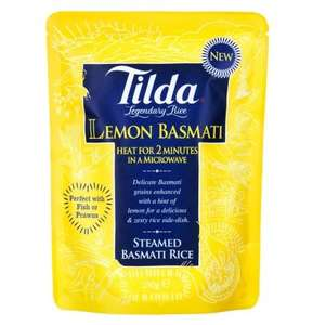 Tilda Basmati Rice Lemon (250g) was £0.49 now 29p @ B&M