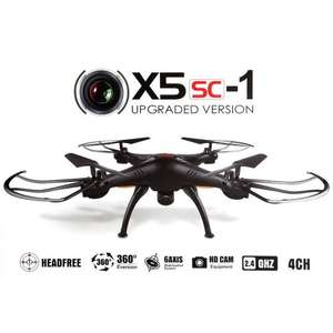 Syma X5SC Quad  / Drone  with camera  - £29.99 @  Vinsani (UK Seller) @ amazon