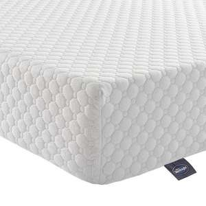 Silentnight 7-Zone Memory Foam Rolled Mattress - European King (160 x 200 cm), White