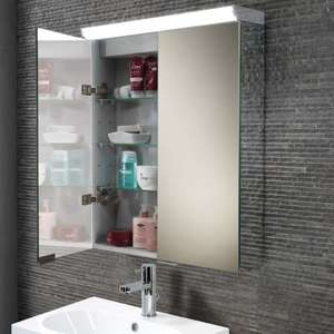HiB Ember LED bathroom cabinet - £388.67 delivered @ Builder depot