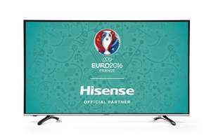 Hisense 49 inch UHD 4K Smart TV Freeview HD, 4xHDMI 3xUSB - Black £335.91 @ Amazon
