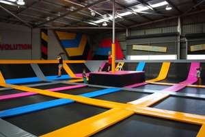 Bounce (Trampoline park) Derby 1 hour session £5 at wowcher (usually £11.95)