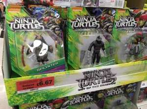 Teenage mutant ninja turtles figures £6.67 in Sainsburys