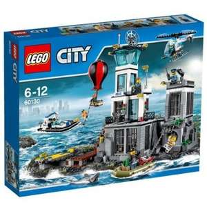 Lego City 60130 Police Prison Island £40.99 @ Amazon with free delivery
