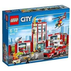 Lego City 60110 Fire Station £48.99 @ Amazon with free delivery