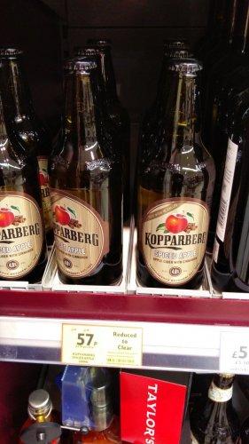 kopparberg spiced apple 57p @ Tesco