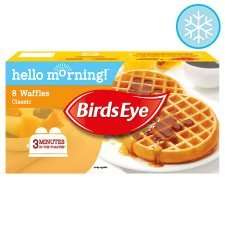 Birdseye frozen breakfast 79p @ tesco with a £1 off voucher from their book instore or online code is GR4L47