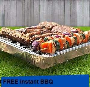 Instant Barbecue (Worth £1.80) Voucher with Saturday's Daily Mail (90p) - Redeem at Wilko